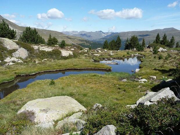 Der kleine Fluss und die Quelle
