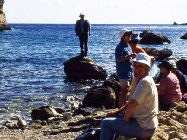 Pause in der Sonne und am Wasser