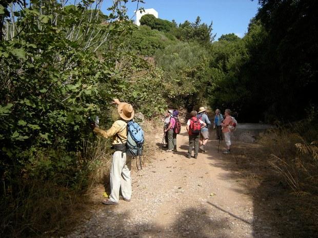 Wanderung zum Berg der Insel Kythira