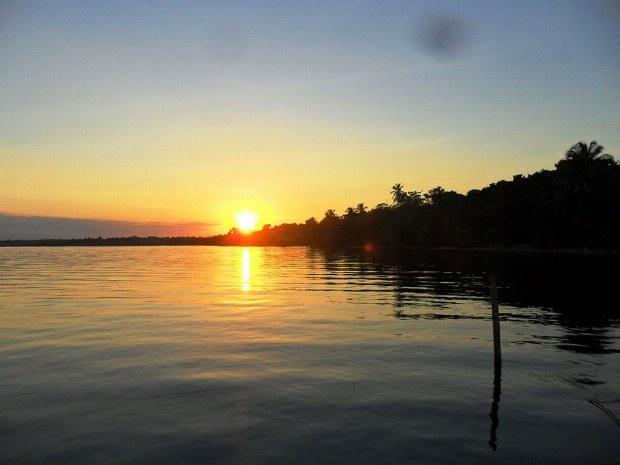 Ein herrlicher Sonnenuntergang