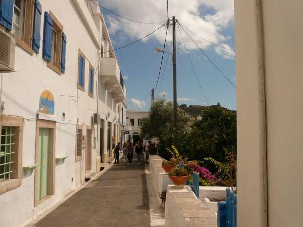 Kleine verwinkelte Wege durch die Griechischen Städte