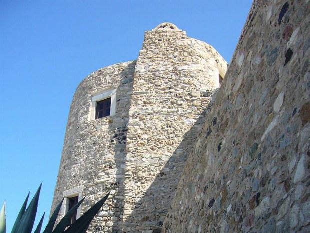 Eine Burg in der Stadt