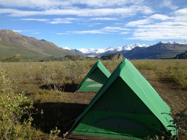 Zelte in der Natur